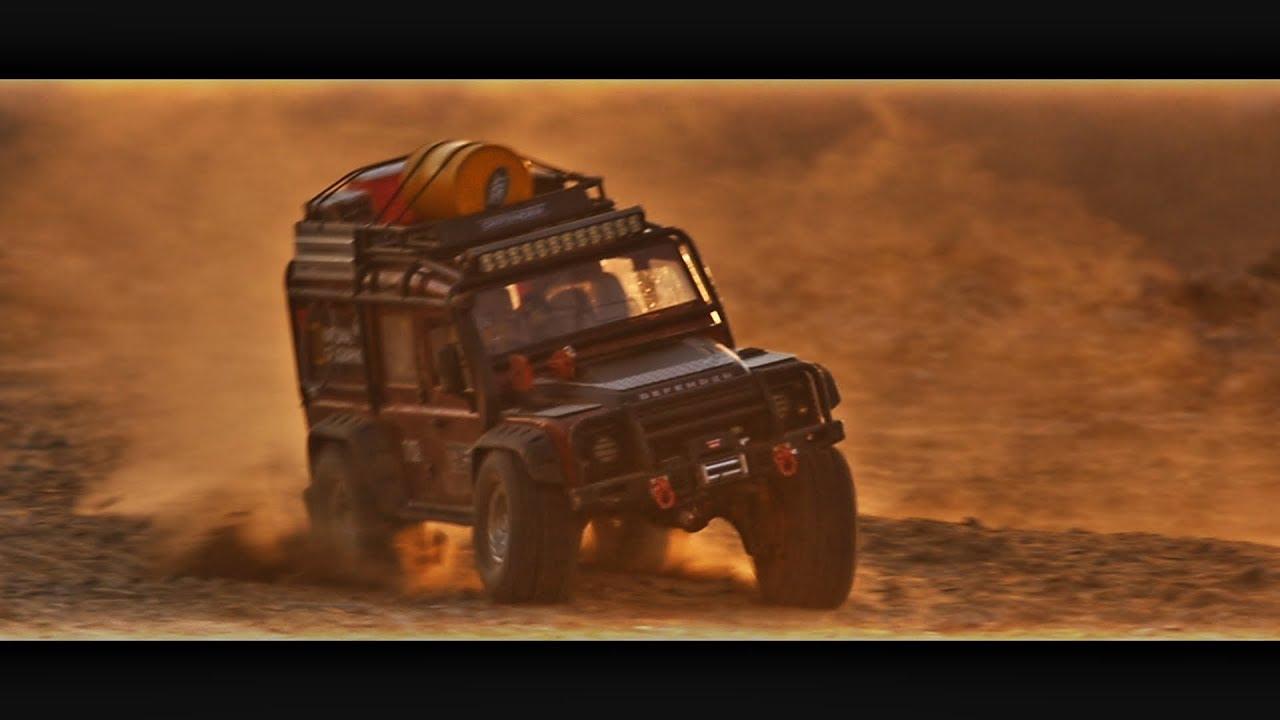 Traxxas TRX4 Defender Sunset 3S Slow motion_#