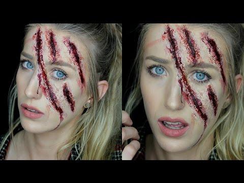 Clawed Face SFX Halloween Tutorial