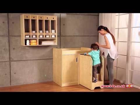 Max & Rosie Wooden Nappy Changing Station