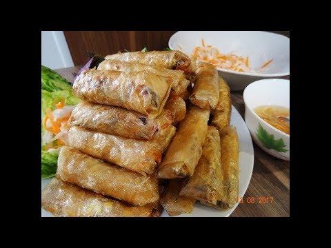 Món Chay - Bí quyết làm Ram Chay - Nem Chay - Chả giò Chay giòn rụm by Vành Khuyên