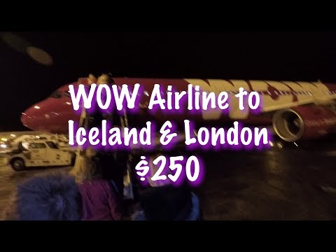 Whats it like to fly Chicago to Iceland & London on WOW Air for $250