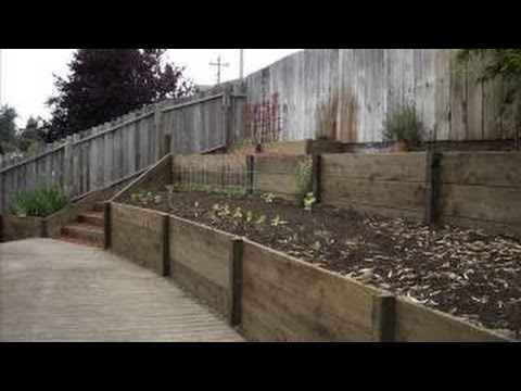 How To Build A Retaining Wall For Cheap [Garden Retaining Wall Ideas]