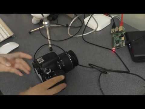 Raspberry Pi Tutorial 41: Control a DSLR with your Pi!