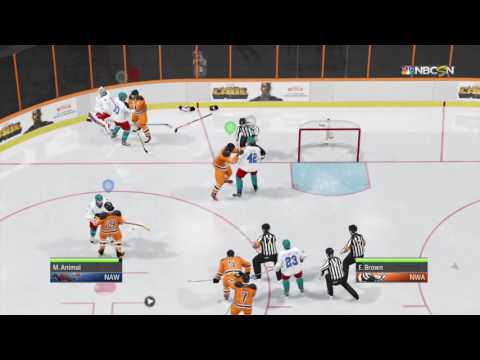 HOW TO REALLY START A FIGHT IN NHL 17