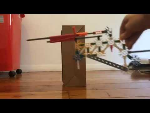 How to make a bolt action knex gun