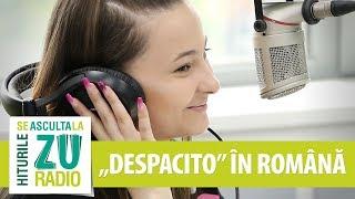 Download A rupt netul cantand Despacito romana. Asa suna coverul ei LIVE la Radio ZU (ft. Prestige Orchestra)