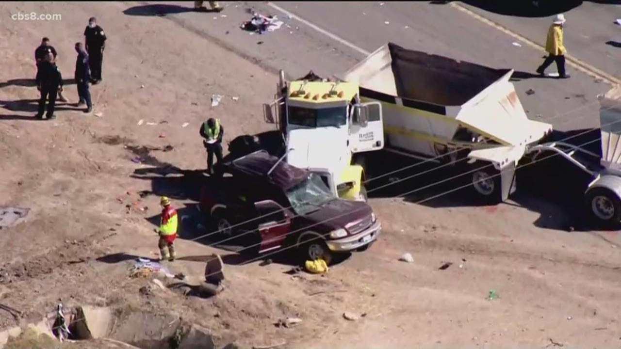 Some patients from deadly Imperial County crash treated in San Diego