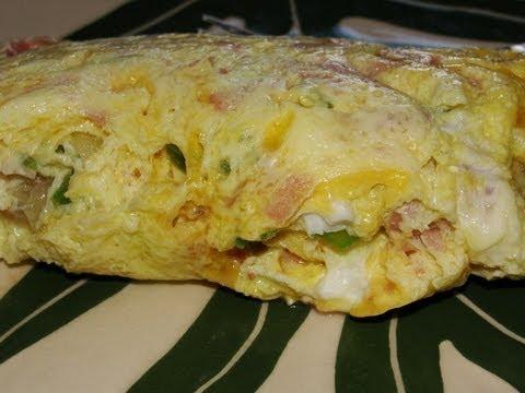 Ziploc Zip'n Steam's Western Omelet with Cheese