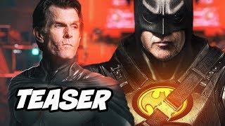 The Flash Batman Teaser - Crisis On Infinite Earths Easter Eggs Breakdown