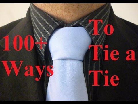 How to Tie a Tie Triple Windsor Necktie Knot