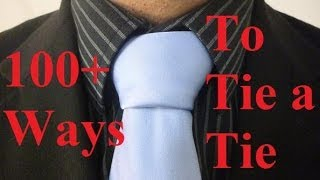 How to Tie a Tie Triple Windsor Necktie Knot