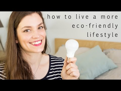 Daily tips for an eco-friendly life | How to have a more sustainable lifestyle