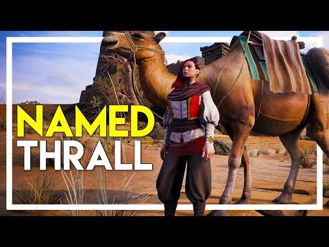 Conan Exiles Gameplay - Part 18: We Got a Named Thrall! - Named Thrall Hunt
