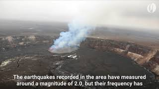 The Kilauea volcano in Hawaii might be about to erupt