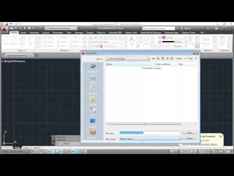 Importing AutoCAD Images into PowerPoint