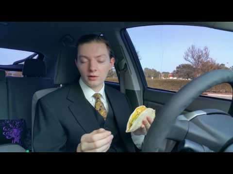 Taco Bell Spicy Sweet Double Stacked Taco - Food Review