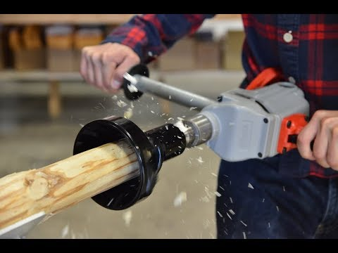 Build Your Own Log Furniture with Lumberjack Tools