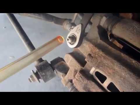DIY 1999 - 2003 How to  Acura TL brake flush bleed