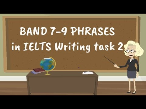 Band 7-9 phrases for IELTS Academic writing task 2| IELTS Academic Writing