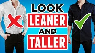 7 Fashion Hacks To Look Taller And Leaner | Rmrs Style Videos For Men