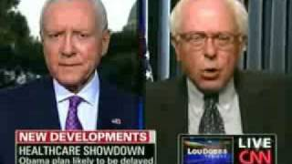 Sen Bernie Sanders Gives Orrin Hatch a Nice Big Helping of STFU Over Health Care Reform
