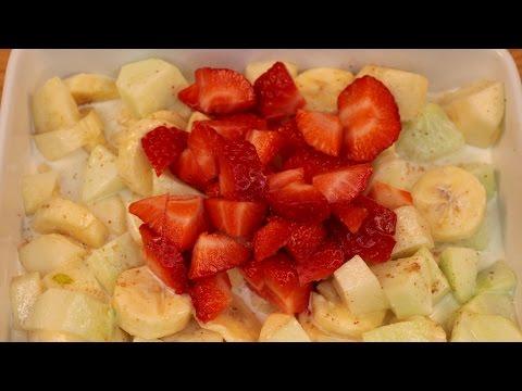 Creme fruit salad