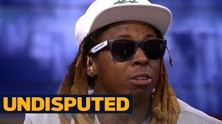 Lil Wayne joins Skip Bayless, Shannon Sharpe to react to Dez Bryant