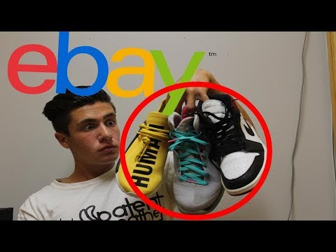 How to use EBAY to buy sneakers.  JORDANS For $50!!!!!