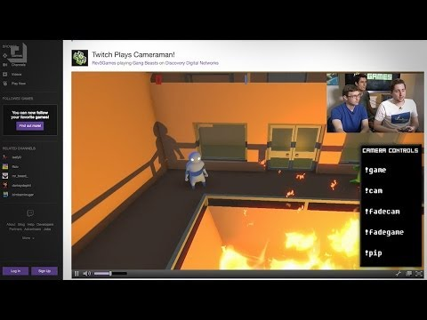 Twitch Plays Cameraman: Control Your PC With Chat Commands!