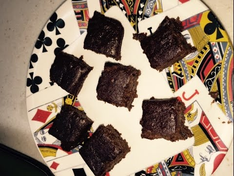 Tresen makes Mouth watering easy brownie recipe with herbalife cookies and cream shake mix