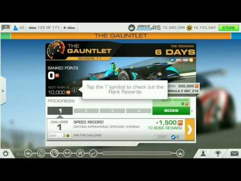 Real Racing 3 - The Gauntlet Season 11 - RENAULT Dezir Concept - Challenge 01