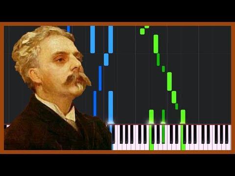 Sicilienne - Gabriel Fauré [Piano Tutorial] (Synthesia)