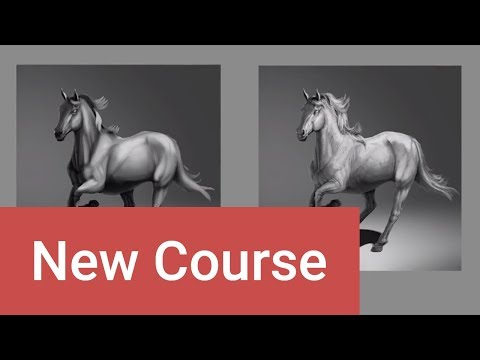 How To Shade Animals In Perspective - Trailer