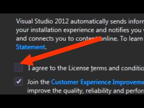 How To Download And Install Microsoft Visual Studio 2012 Express