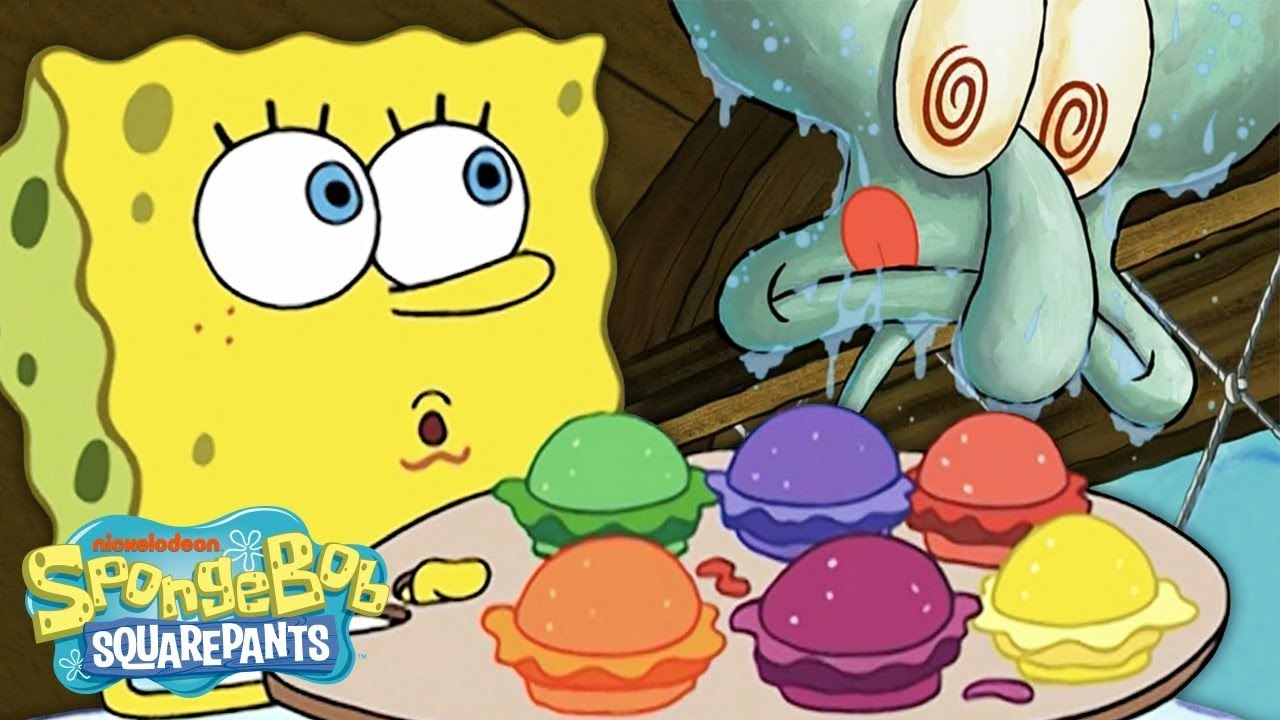 Every Krabby Patty EVER! 🍔 | #SpongeBobSaturdays