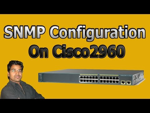 Switching and Routing # SNMP configuration 2960 hindi