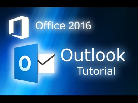 Microsoft Outlook 2016 - Tutorial for Beginners [+ General Overview]