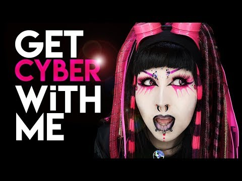 GET CYBER WITH ME (much goth wow!)