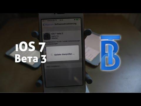 Preview: iOS 7 Beta 3 [German/Deutsch]