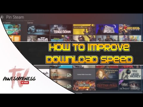 How To Improve Steam Download Speed (HD)