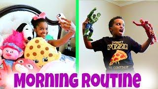 MORNING ROUTINE!!! Shiloh And Shasha - Onyx Kids