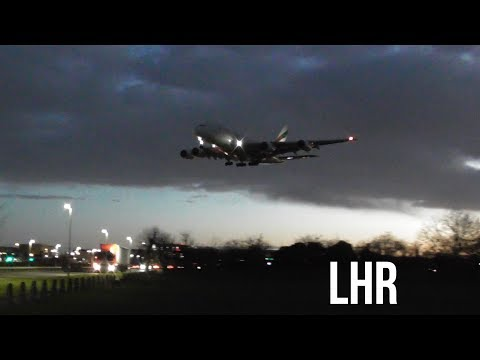 Plane spotting *Morning Arrivals* Myrtle Avenue London Heathrow Airport 🛩🛩🛬