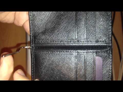 Prada mens money clip bifold fake/real difference