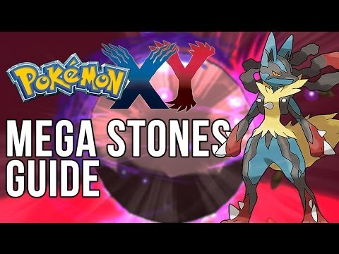 Pokemon X and Y - Mega Stones Guide