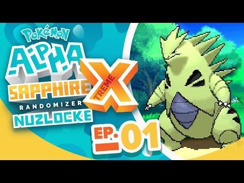 OUR STARTER IS BROKEN! - Pokémon Alpha Sapphire Extreme Randomizer Nuzlocke w/ Supra! Episode #01