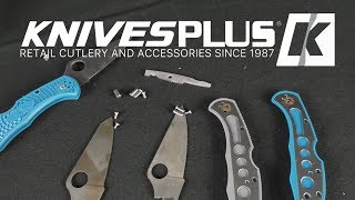 39 Chris Reeve Knives PLUS Spyderco, Strider, Hinderer, and