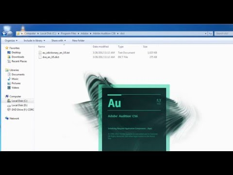 how to change language adobe audition cs6 to english