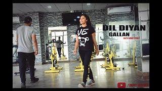 Dil Diyan Gallan | Cute Love Story | Tiger Zinda Hai | Salman Khan , Katrina |  Latest Song | 2017