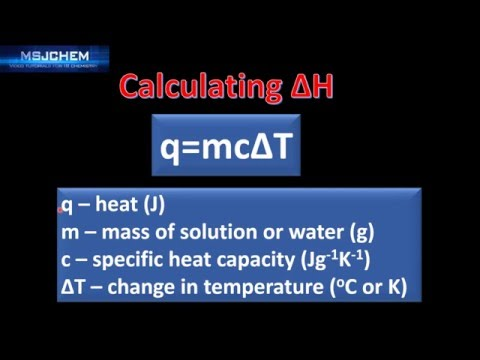 5.1 Calculating enthalpy changes (SL)