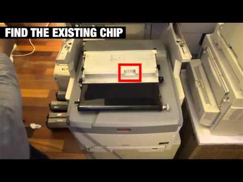 Transfer Belt Reset Chip guide for OKI, Toshiba, Muratek, Xerox, Intec and etc